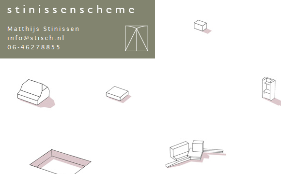 screenshot van de website van StinissenScheme